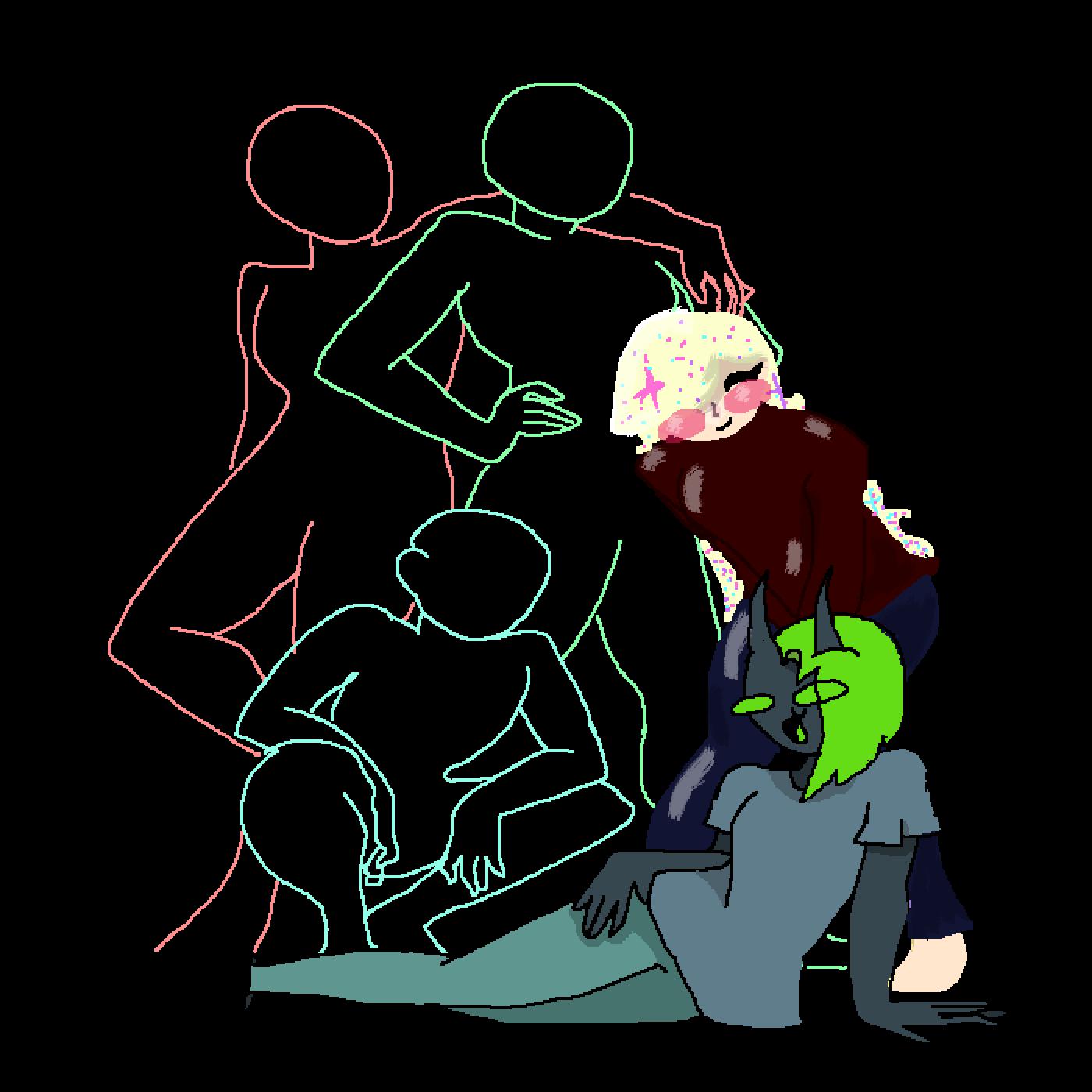 main-image-GREEN BEAN  by DoodleKitten