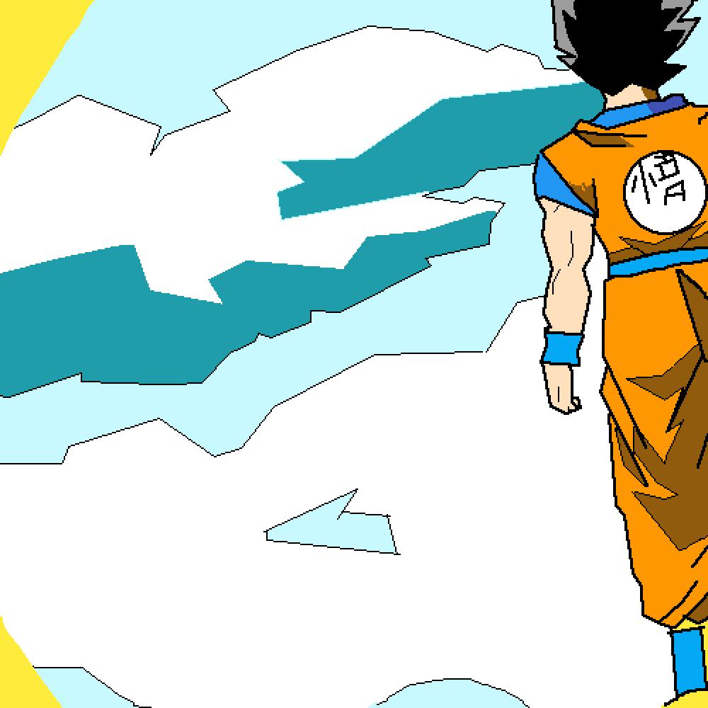 Son Goku and Nimbus
