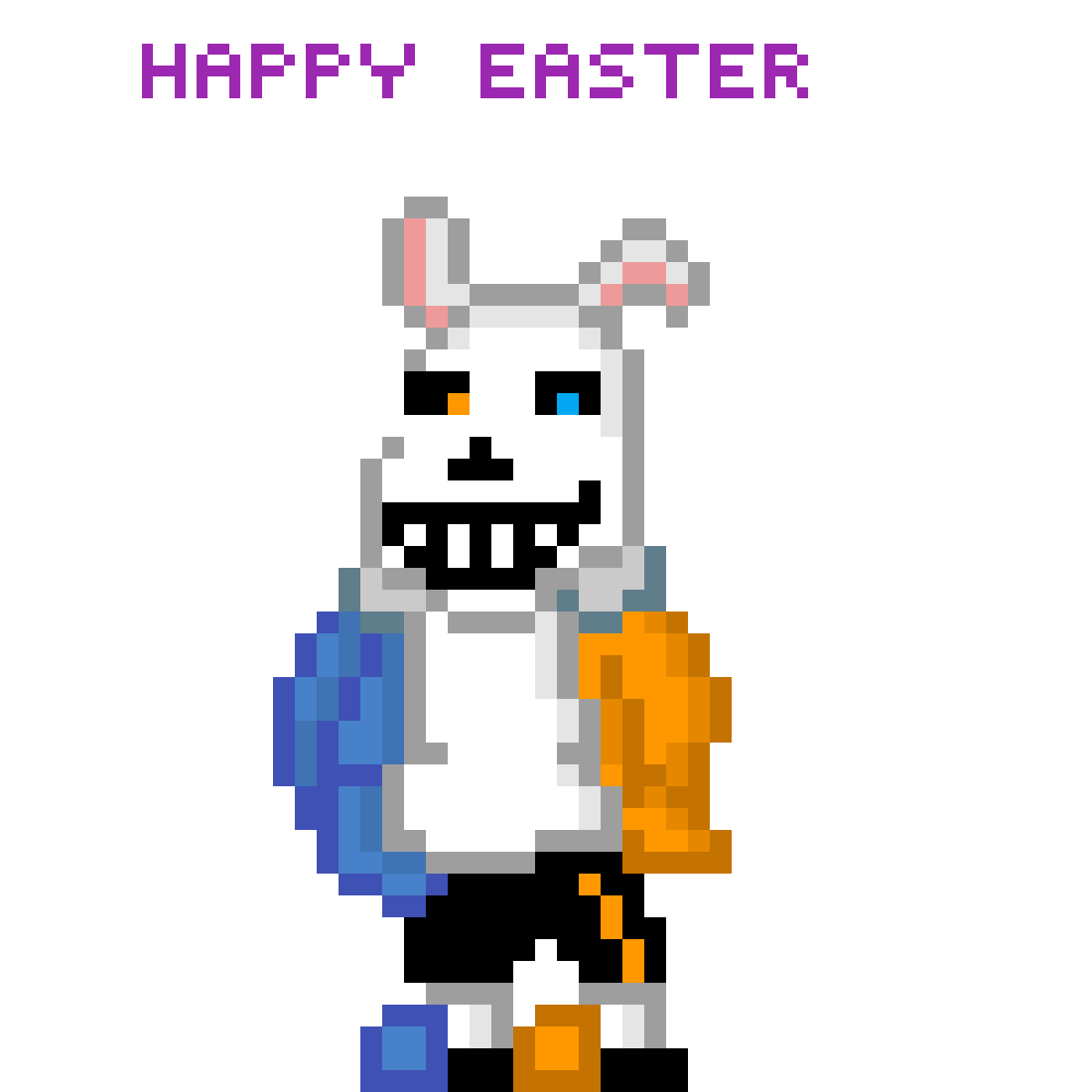 happy easter by thetidehimself