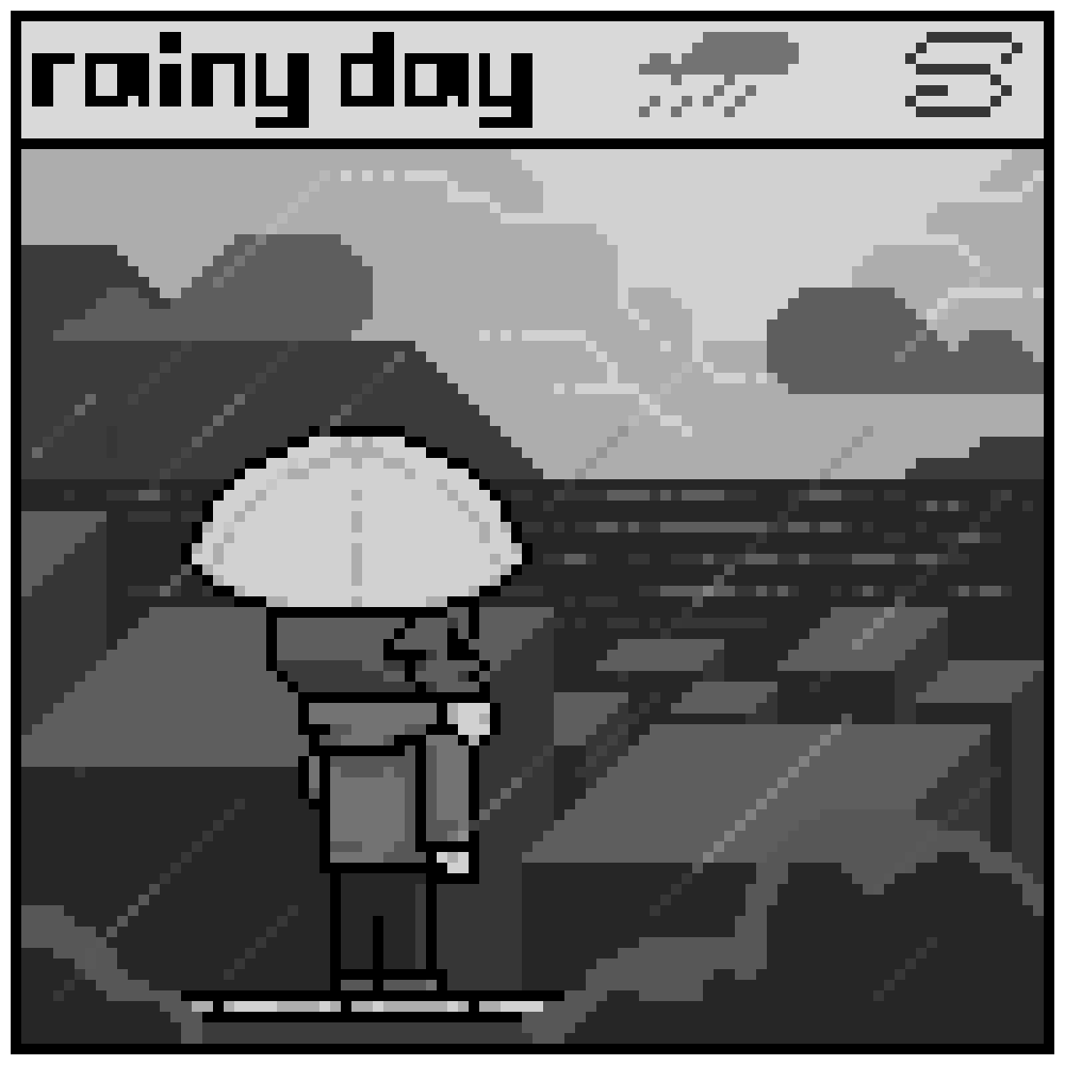 main-image-(Far Away) Rainy day  by Mininongg