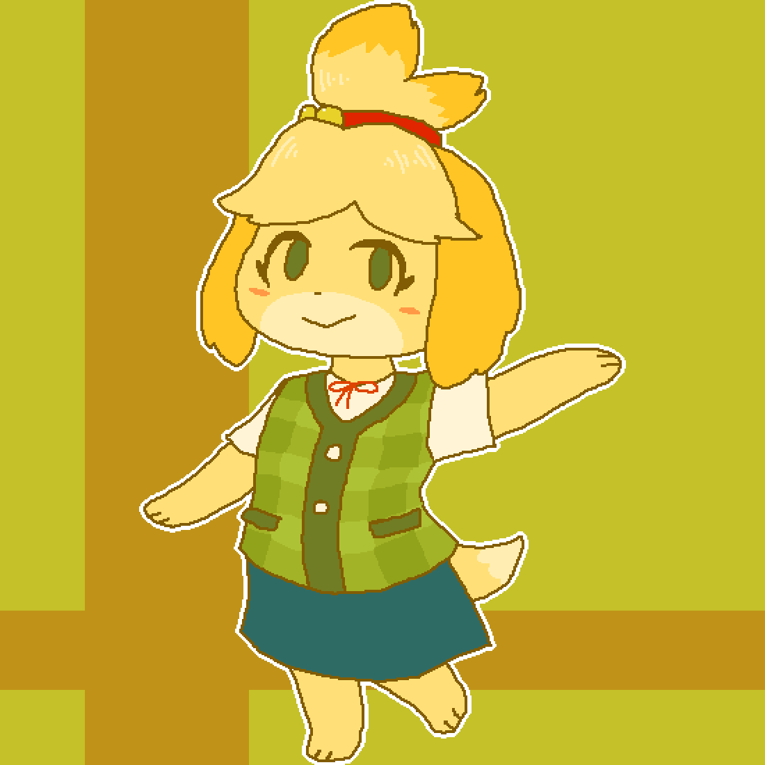 main-image-#68 Isabelle - SSBU  by Dopey-Dragonite