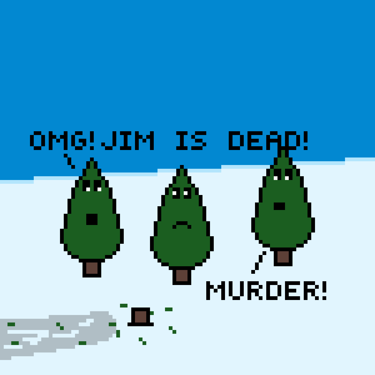 Jim was murdered!! by AceEverwoode