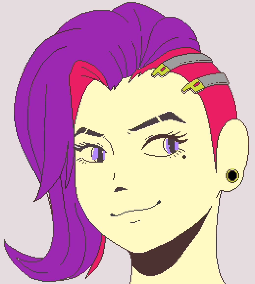 when you don't like your old hairstyle by Winterqueen2341