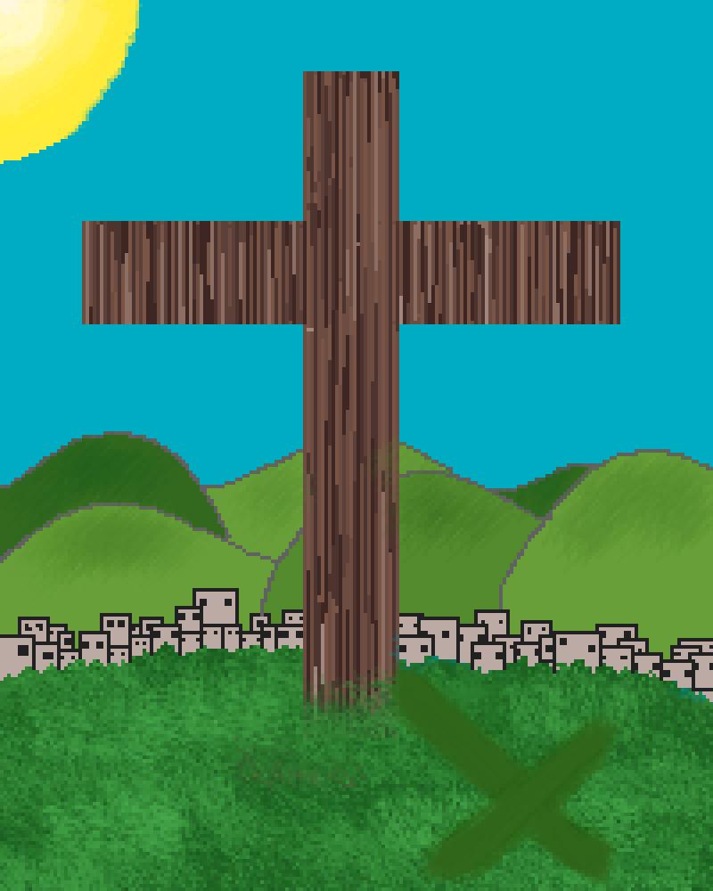 Christ's Cross  by Genenian