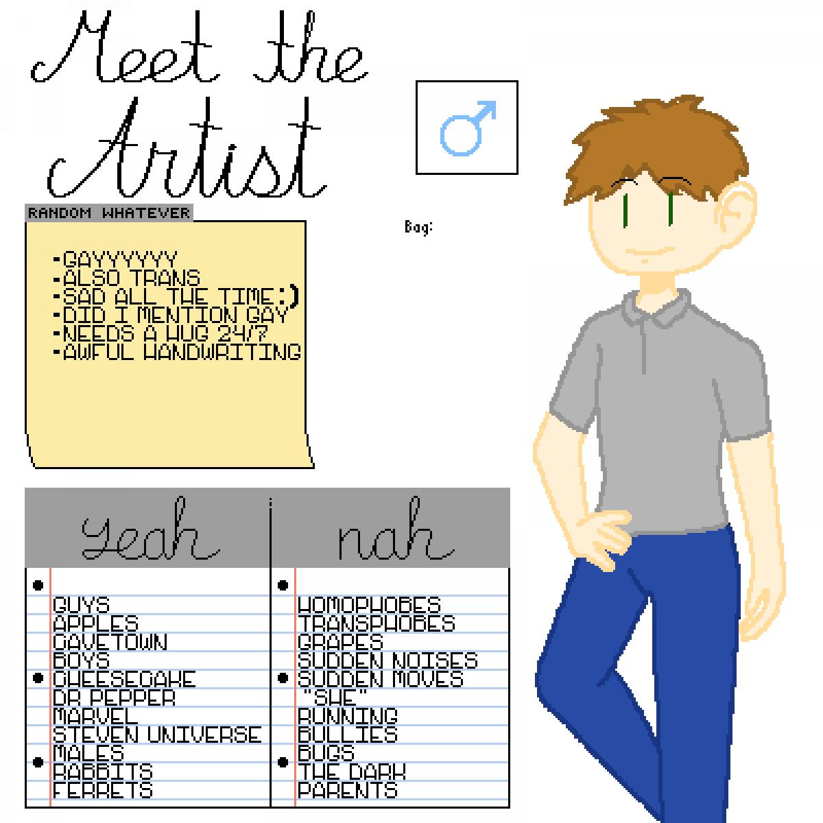 Meet The Artist by ReyloIsMyOTP
