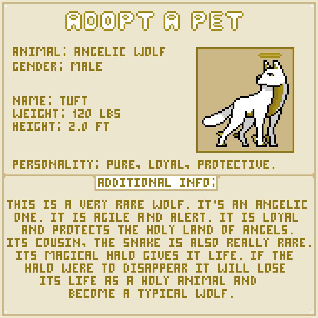 Pixilart - Adopt A Pet #11 by LeoTheLeon