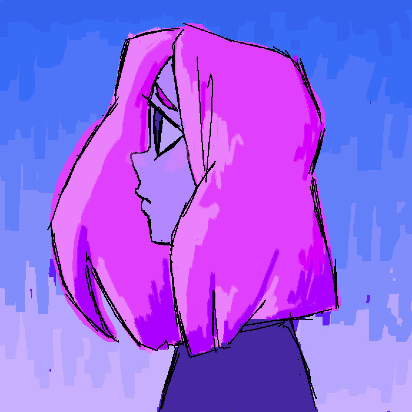 purple by Kpbutterfly