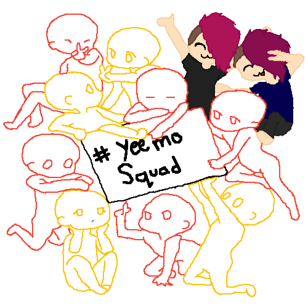 The Yeemo Squad  by LoveMyEmoBands