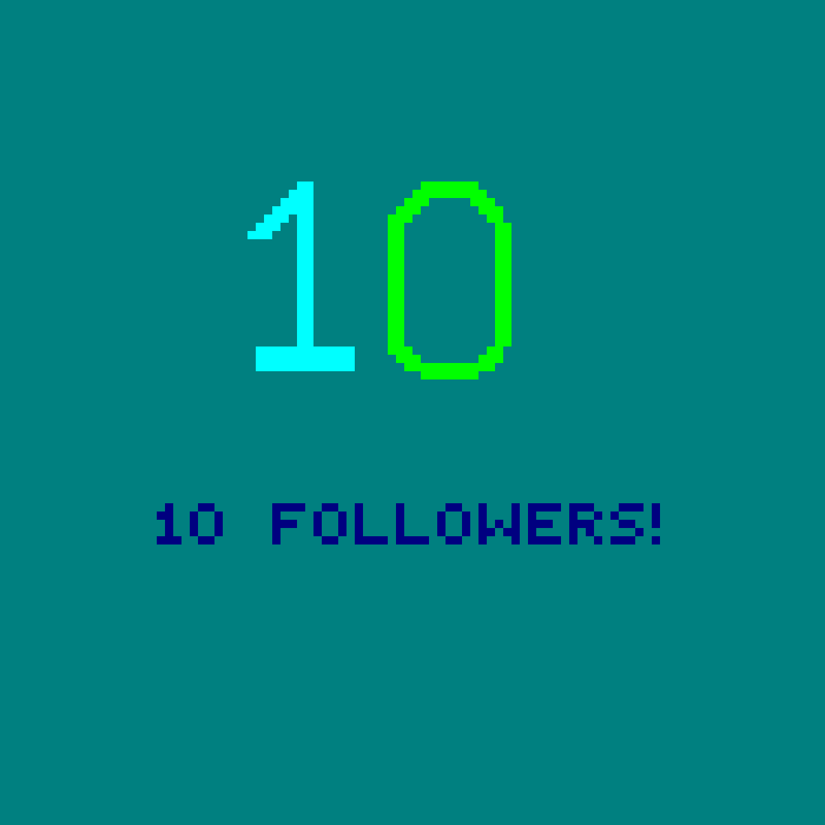 main-image-10 followers  by LittlePixil