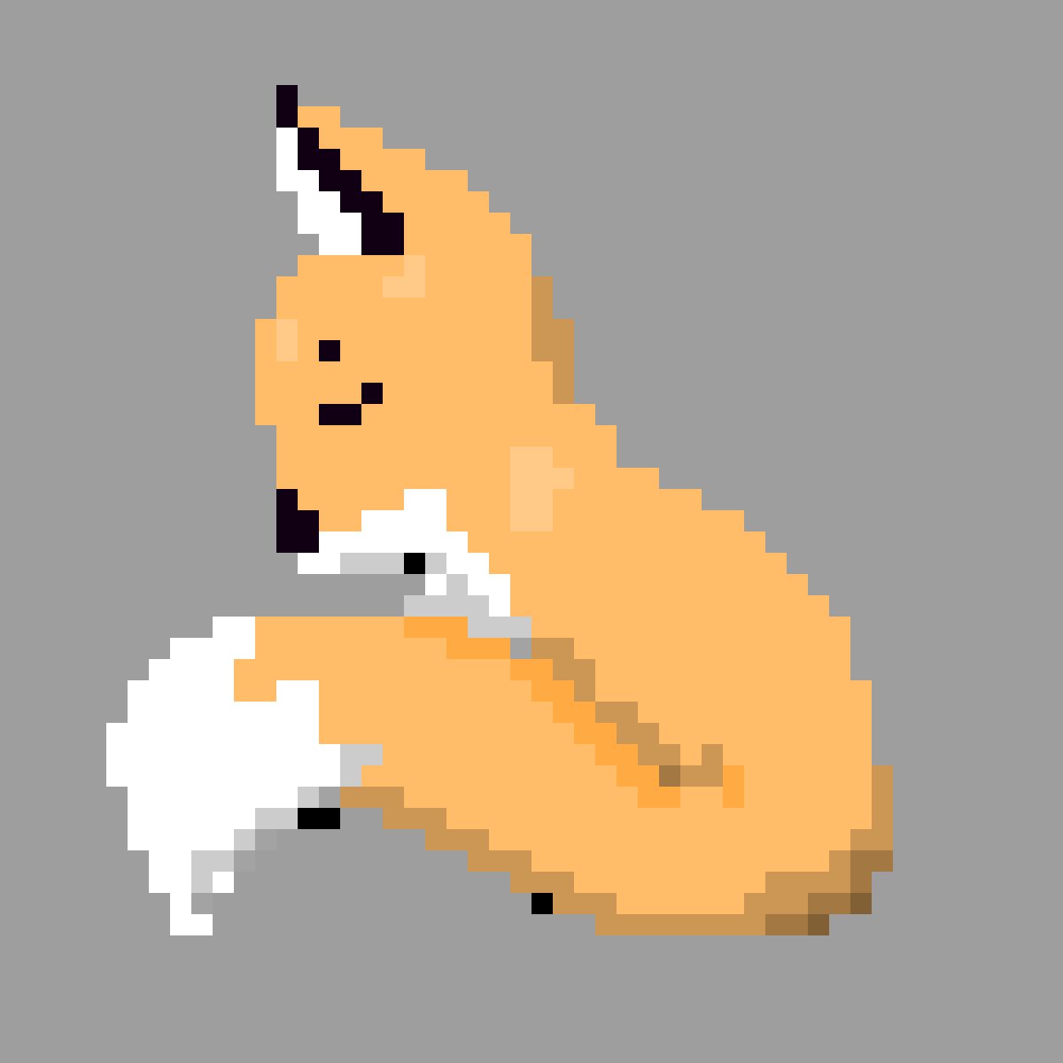 Fox-50 Follower Drawing by PvZgamer183