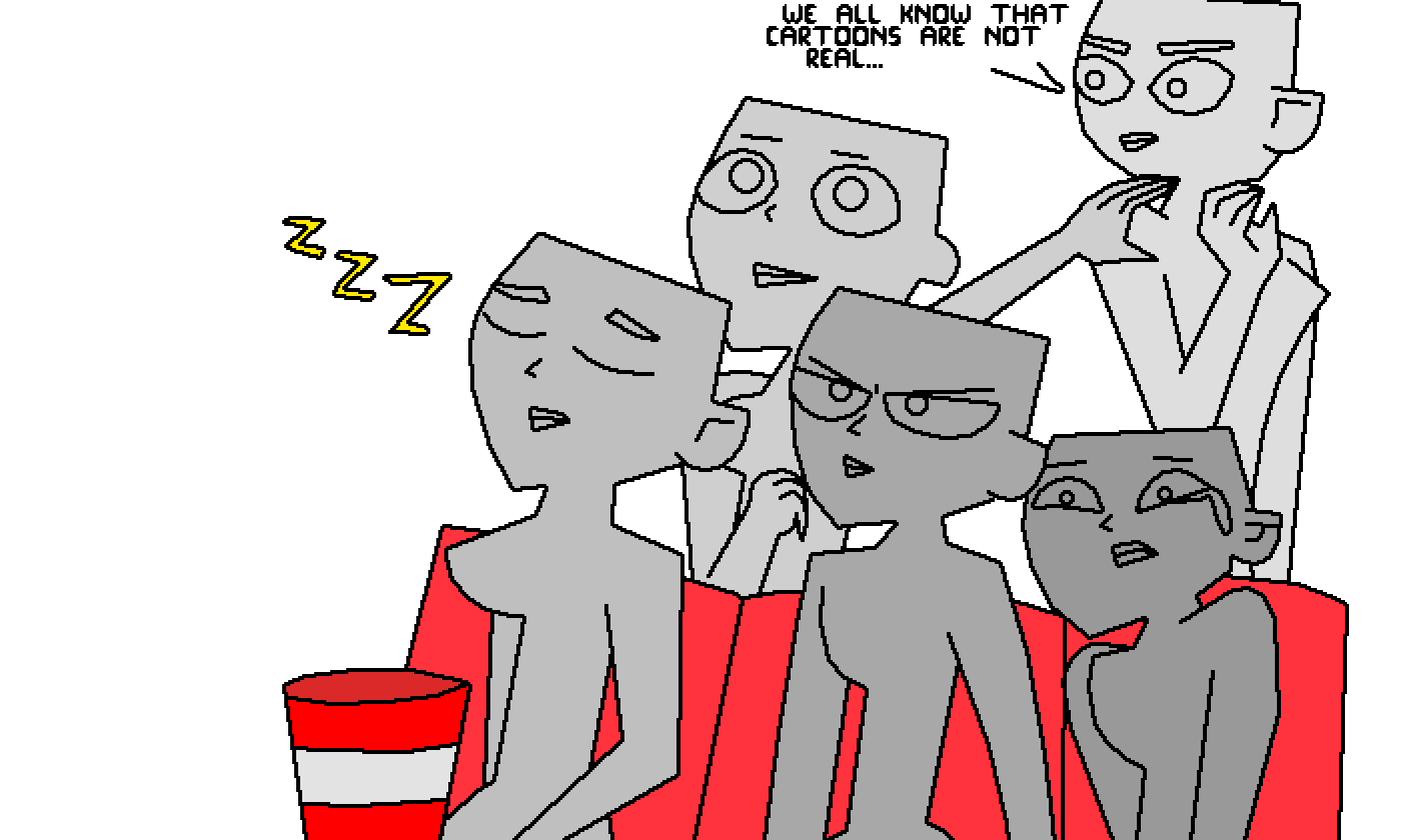 Movie night in TD style (sorry, this is bad XD) by TdiNoah