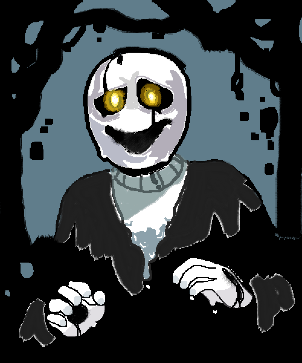 w.d gaster  by Meowi-me