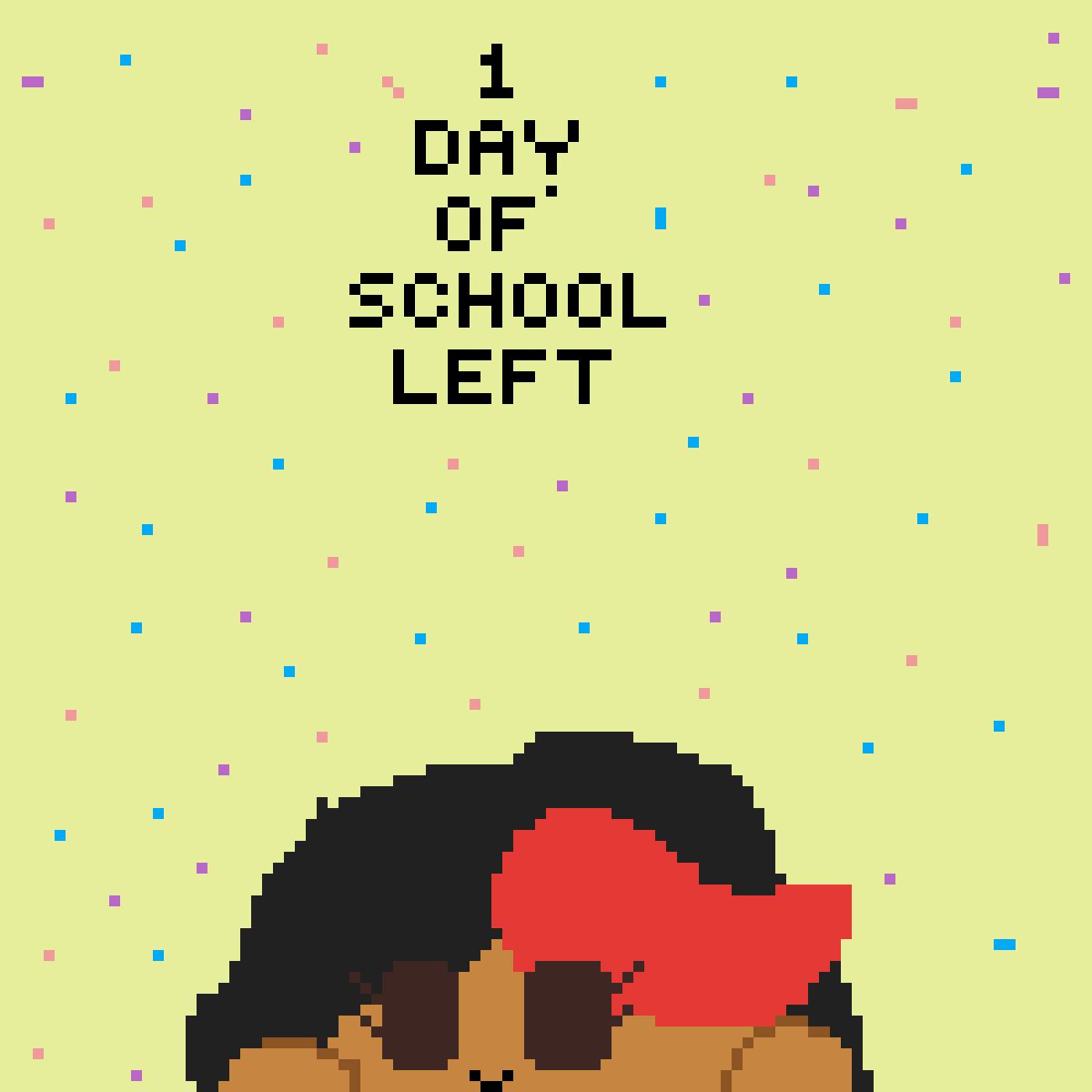 1 day of school left by love-it-mugman