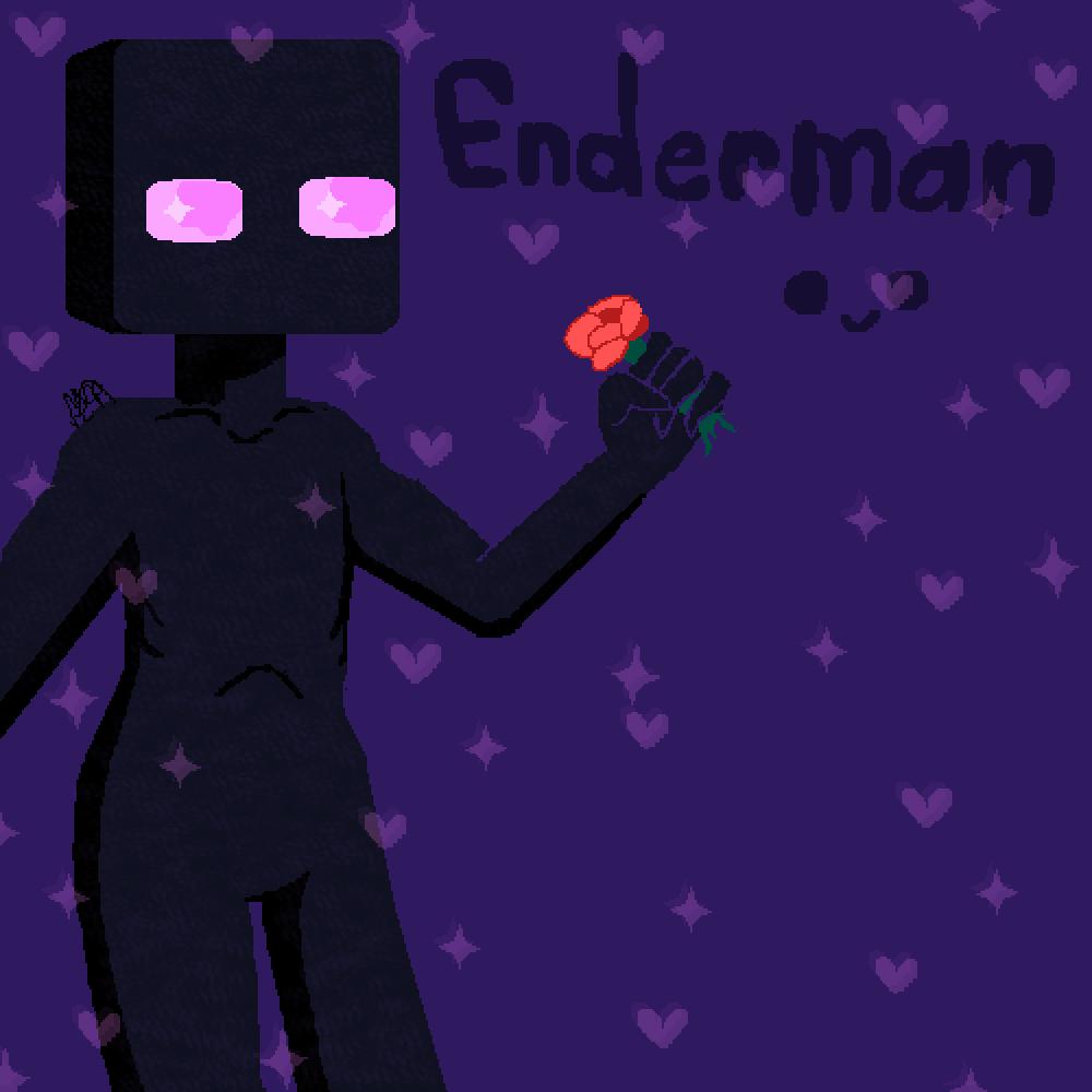 Enderman,, by RottenBunnyBoy