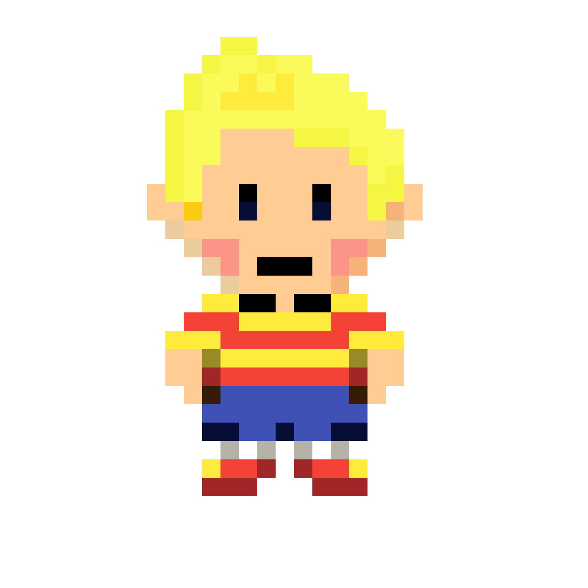 Pixilart - Mother 3 - Lucas Hd Sprite by Anonymous