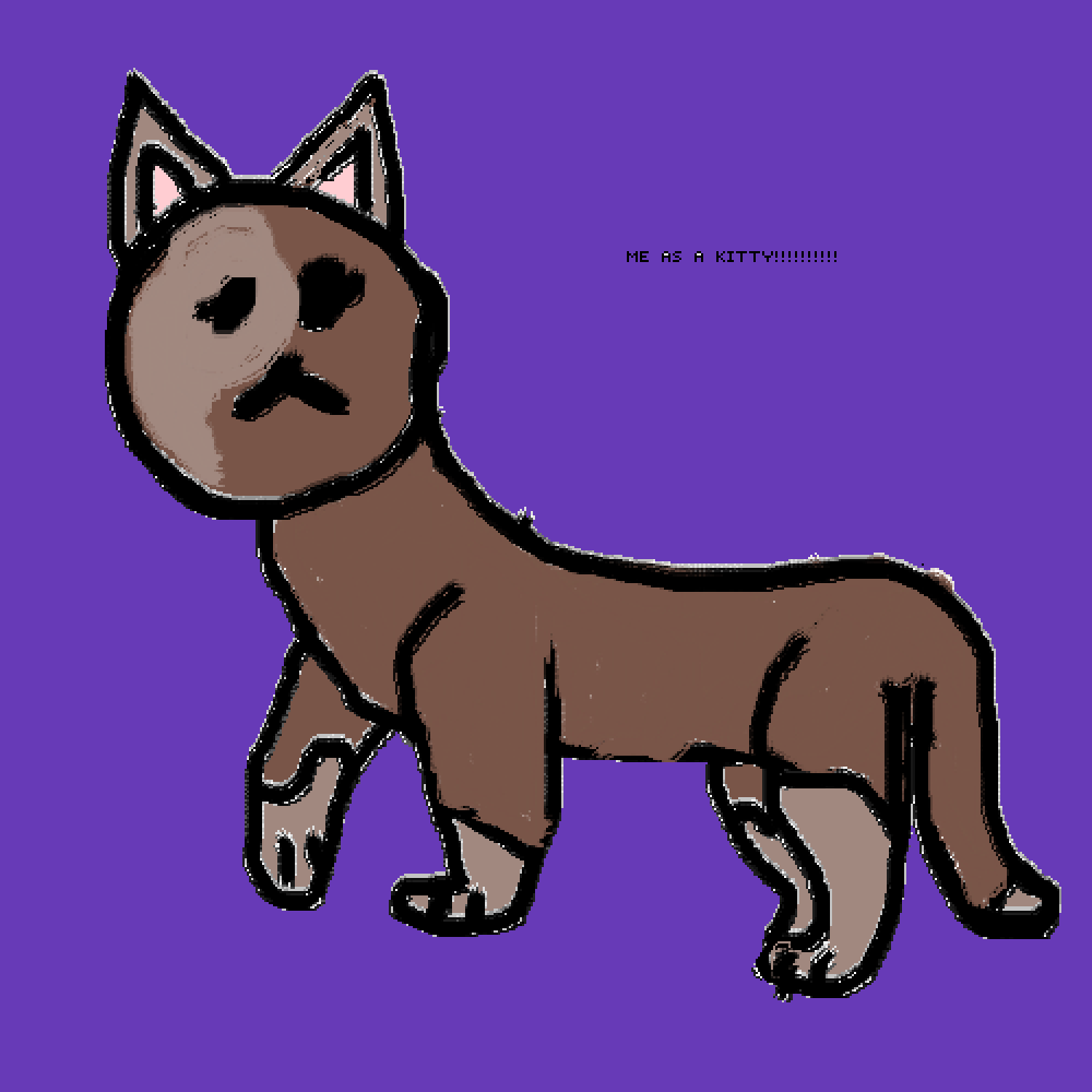 Me as a cat by Lol-is-meh