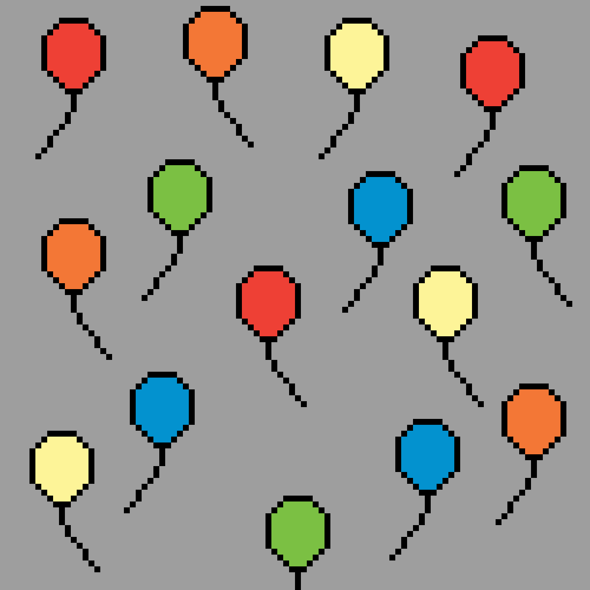 balloons by WolfiedotExe