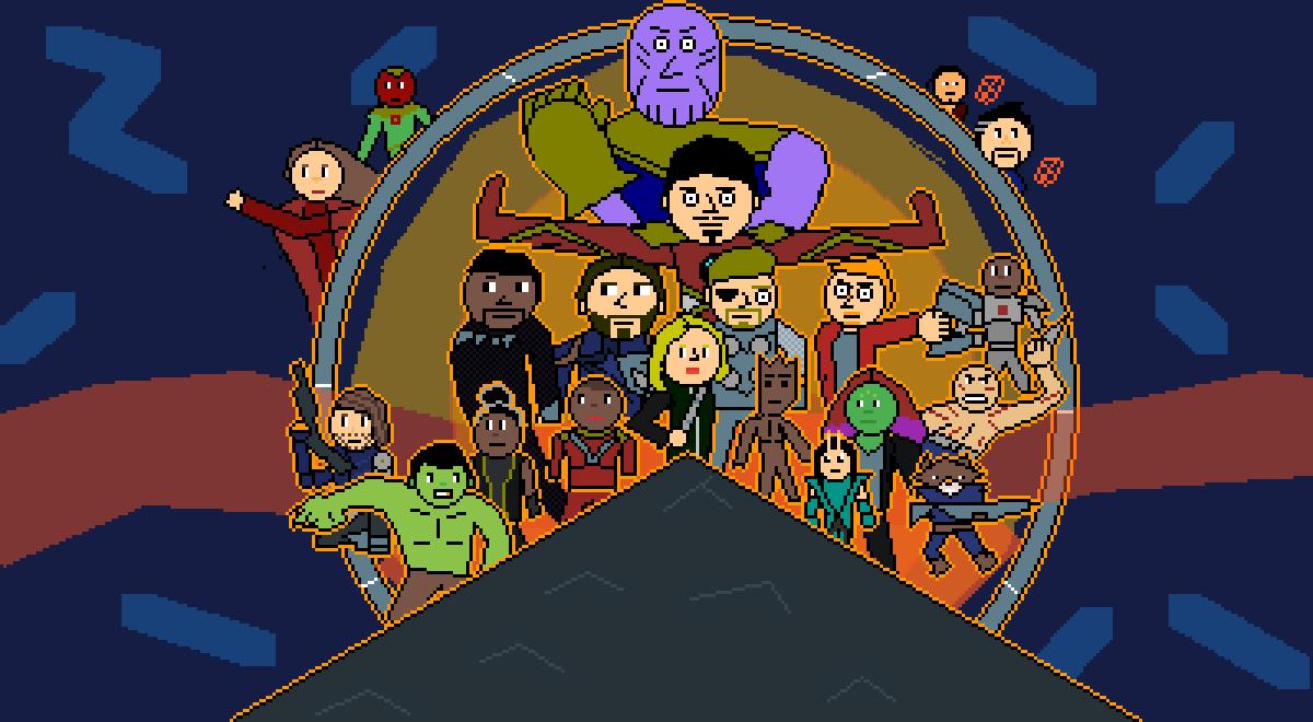 Avengers : Infinity War  by Pixel-Lord-12