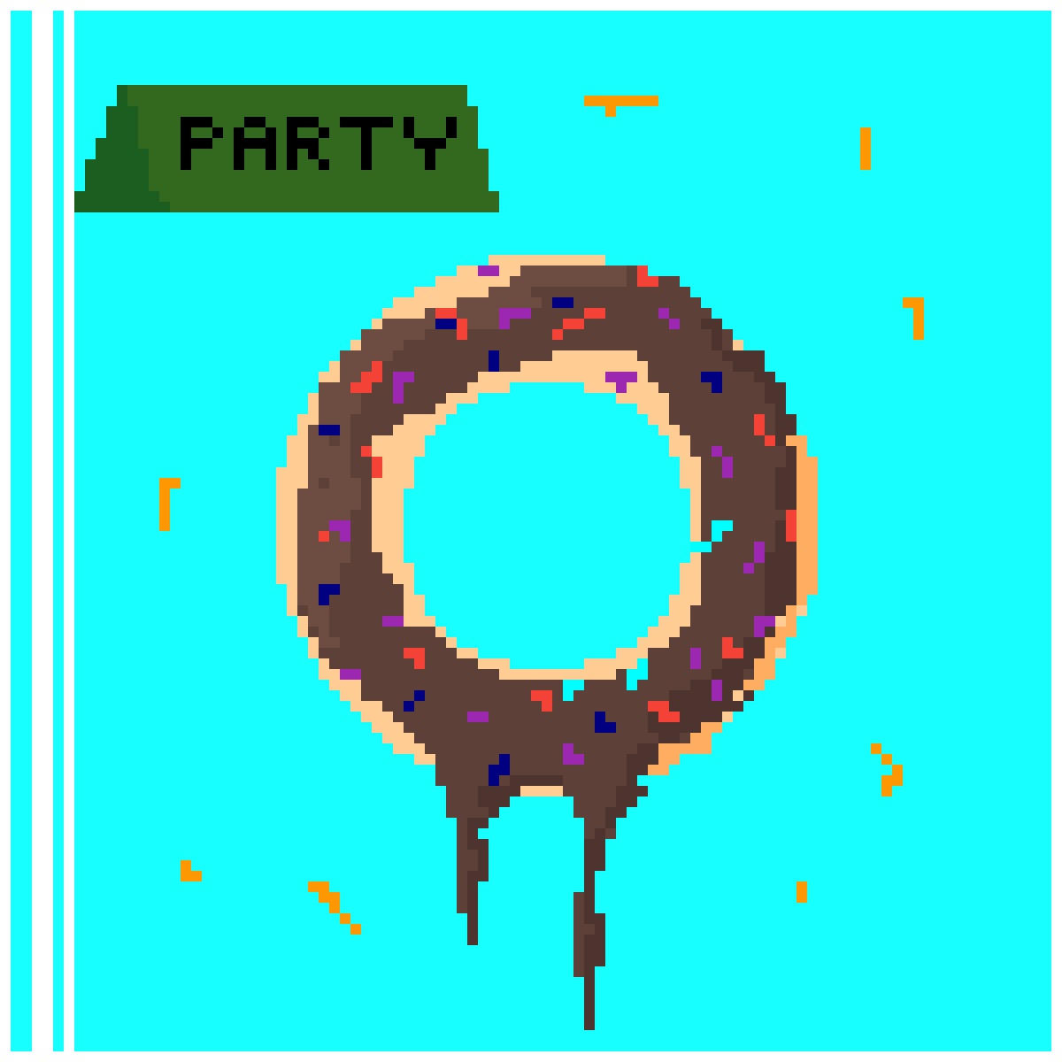 Party Donut!!! by Burk