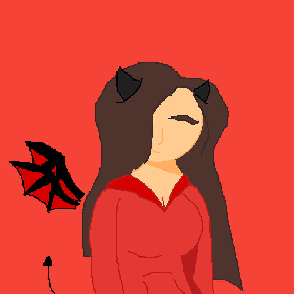 Satans Lil Girl (Meh BFF) by SketchyEdge