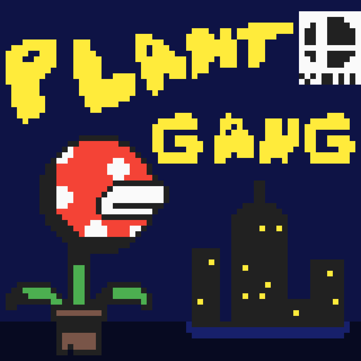 Plant Gang Comic Book Cover Vol. 1 by Baconbit
