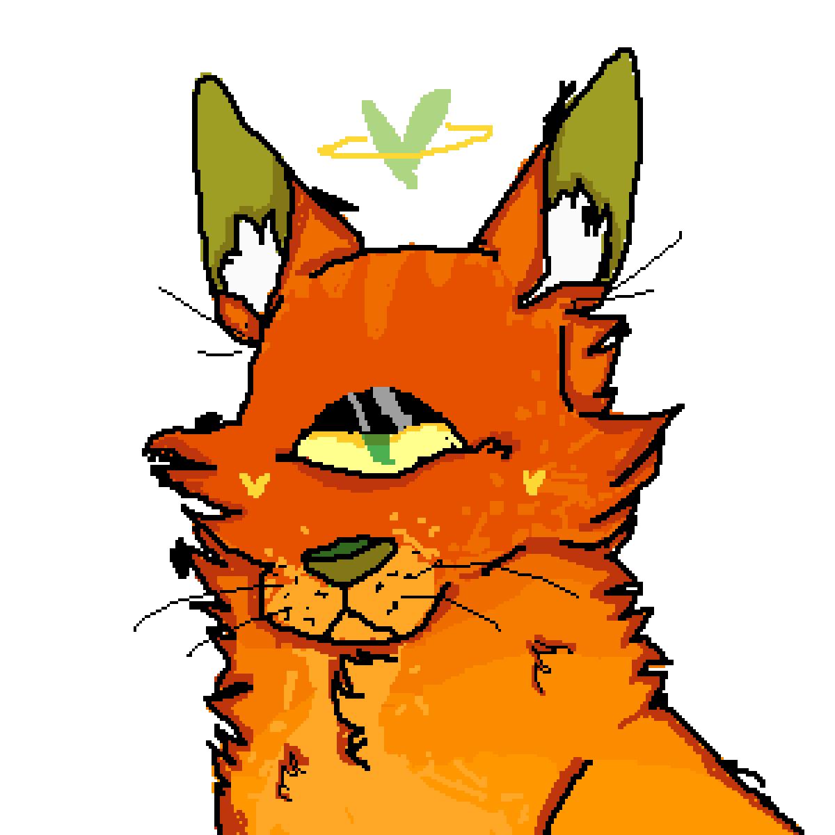 orange cat by Sad-Toast