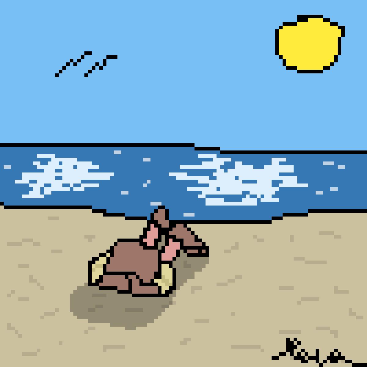 Seaside Sitdown by Mineninja