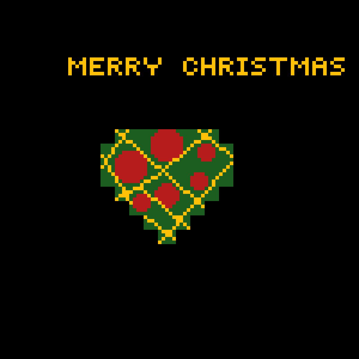 Christmas Heart  by MegaBossPixel23