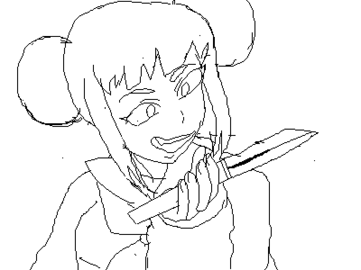 toga himiko WIP by theanimediamond