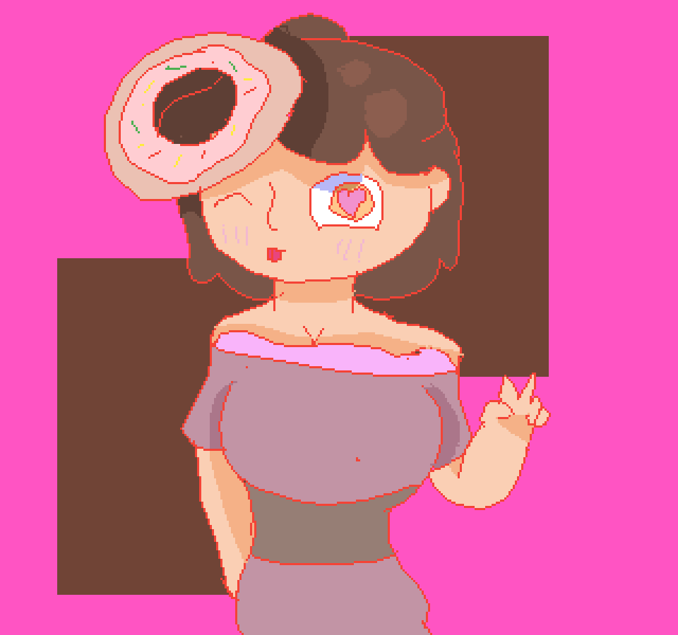 donut girl by Shadowcatz