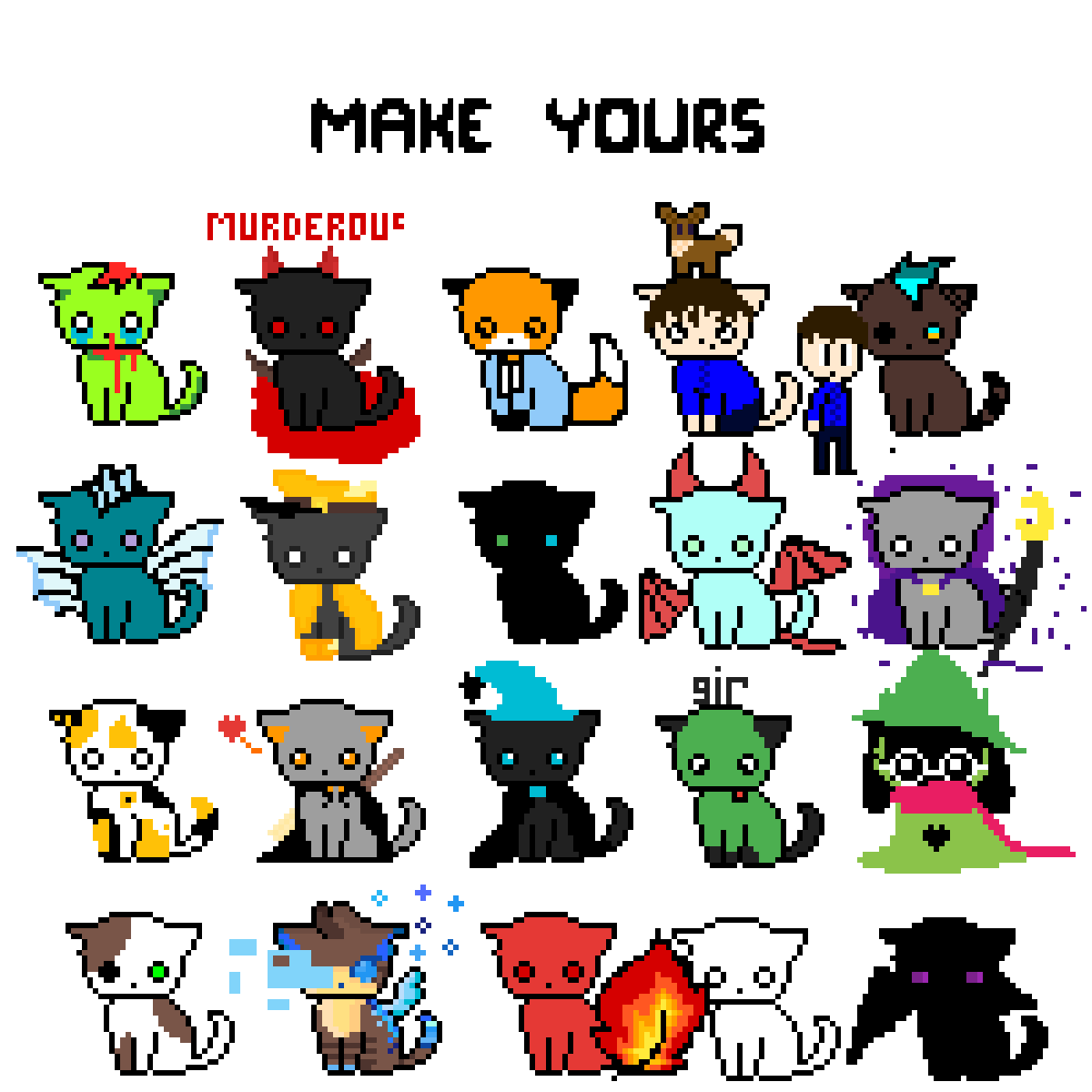 Make Your Own Cat! by bananaman1776