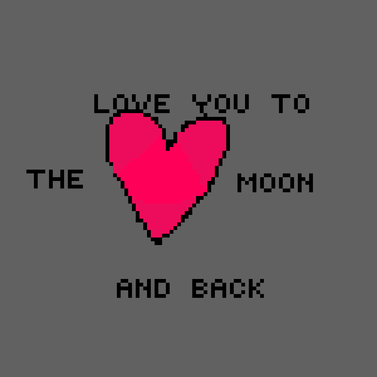 Luv you to the moon and back <3 by Audey-playz