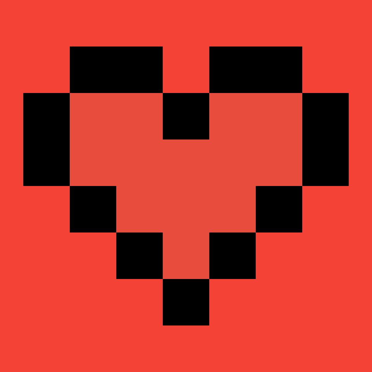 a red heart for my new bae charli by 1009022