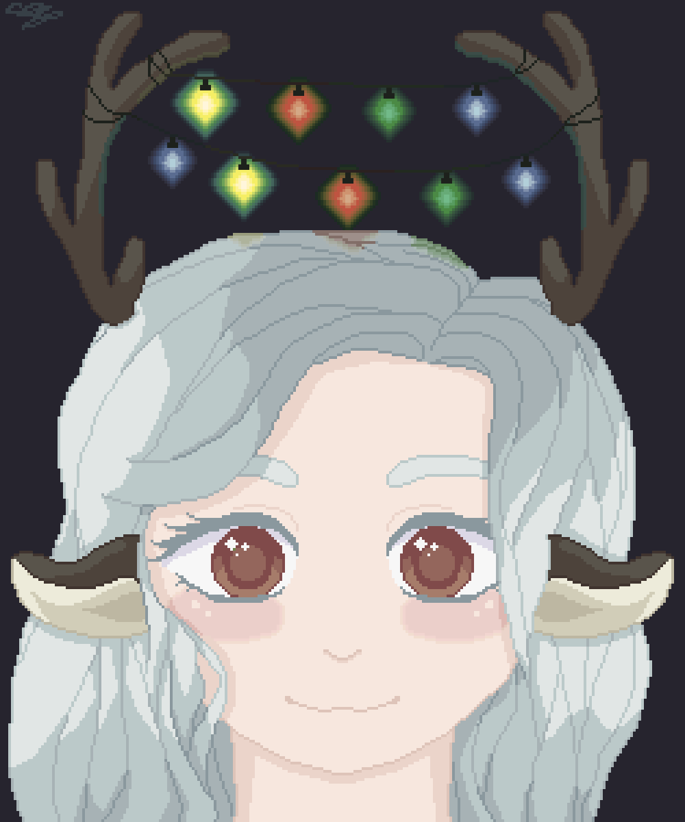 Christmas Deer by bunbun