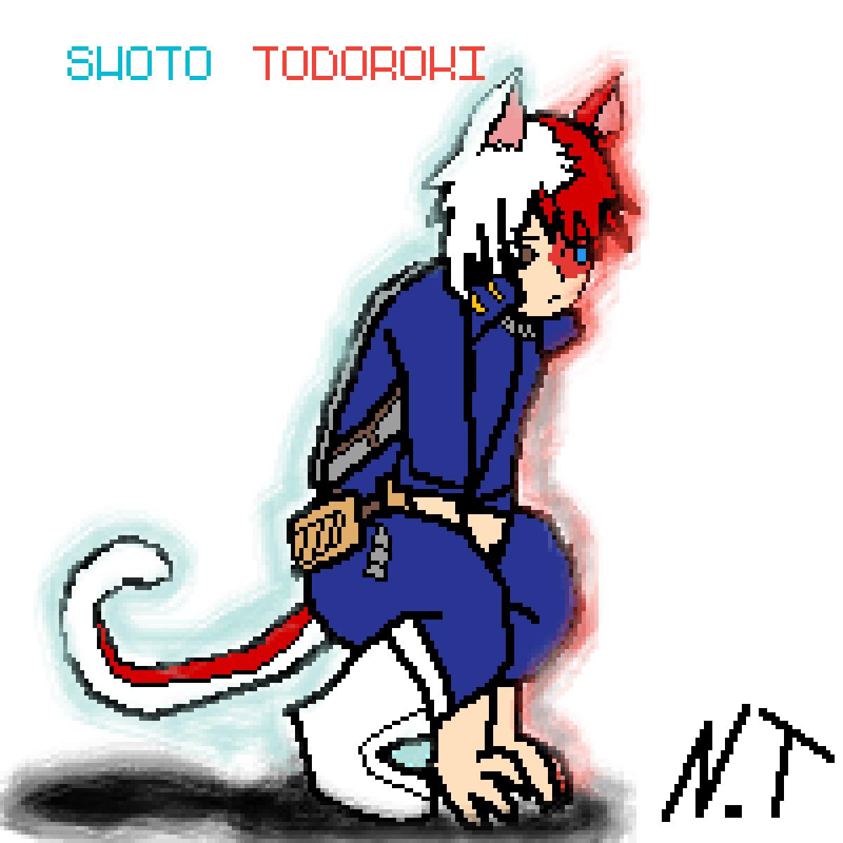 main-image-Shoto Todoroki Kemonomimi Edition !    by Doggo-360