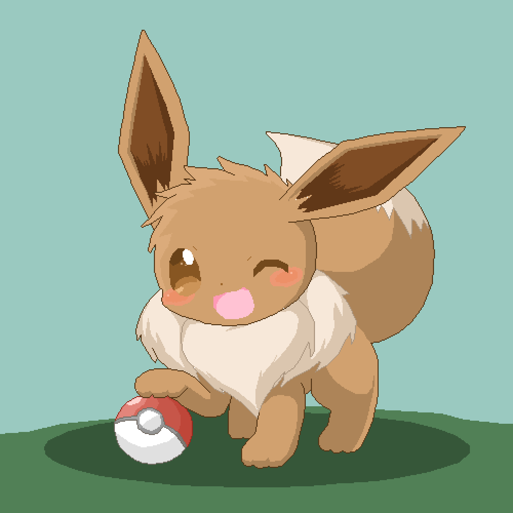eevee (for contest) by CreativeGamer
