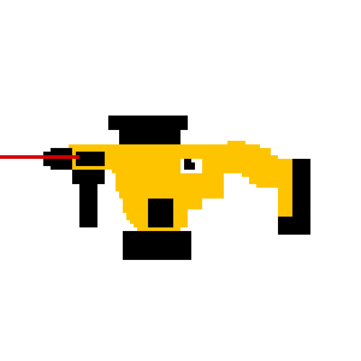 Pixilart - r6 lion vector-yellow by Anonymous