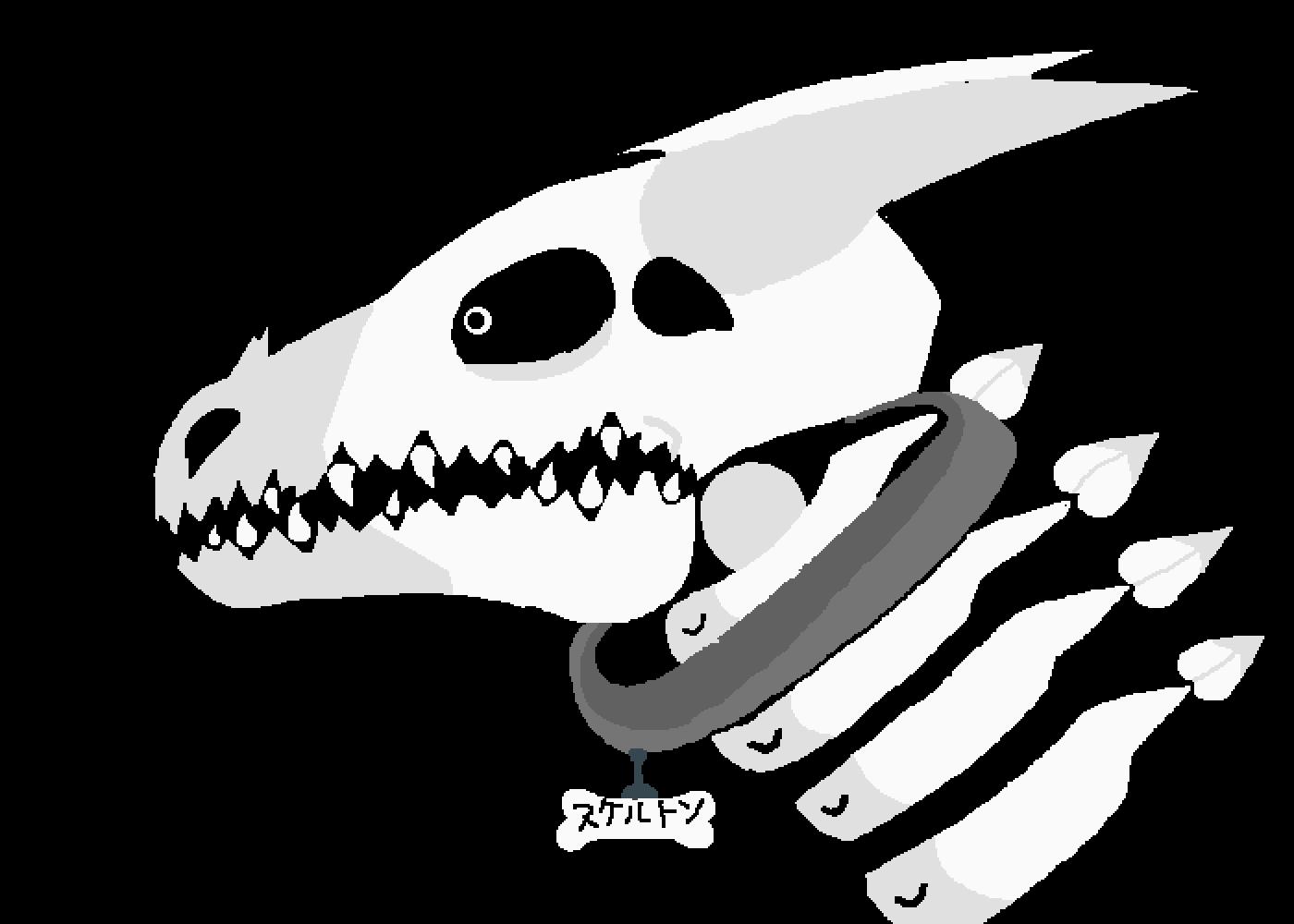 Dragon Skeleton by NELTON