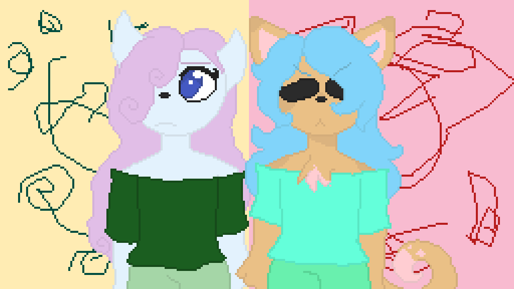gina and jina (request from sincere the sick bean #2 by TealLover11