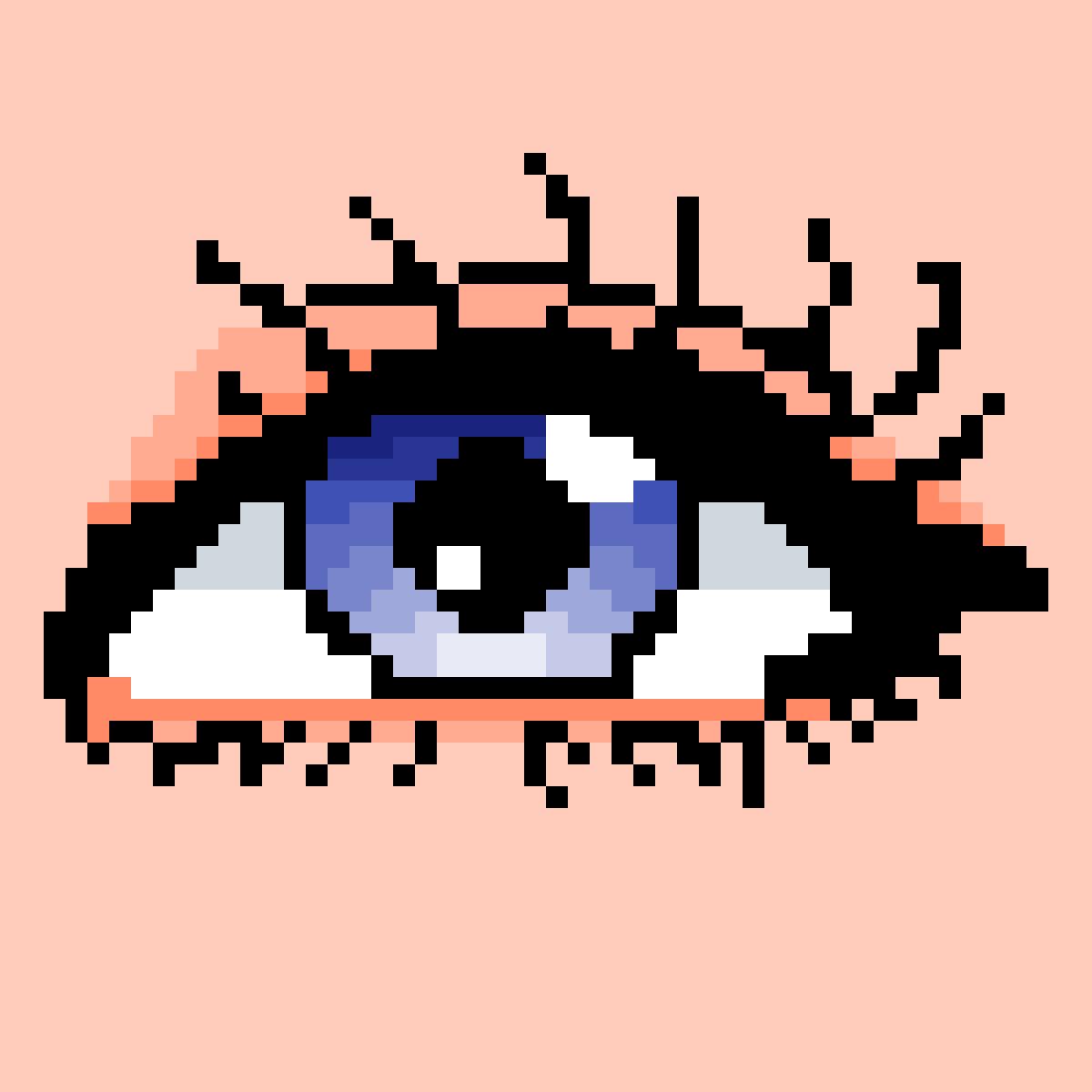 Blue eye ?✨ by LilTaE