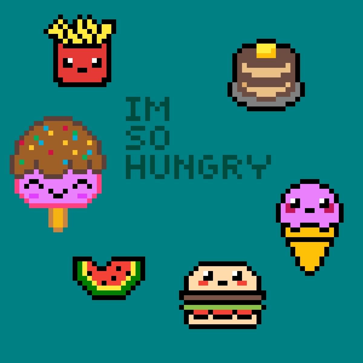 8-bit food