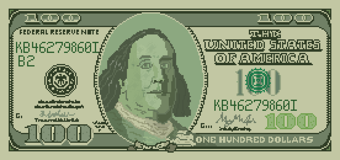 One Hundred Dollar Bill by Cosmos16