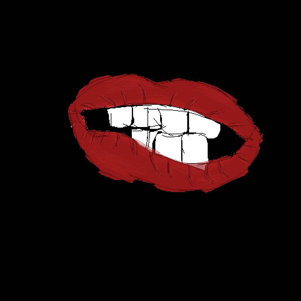 Pixilart Lips Sketch By Somnom