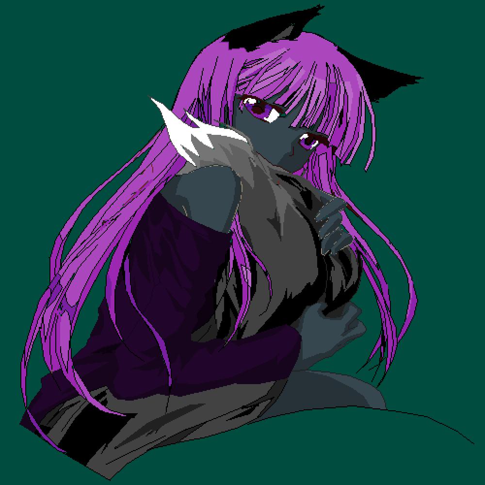 Purple Moon by ShadowHuntress