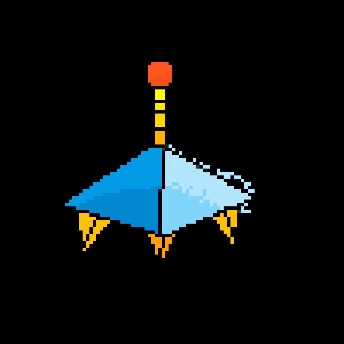 spaceship by HOMIE