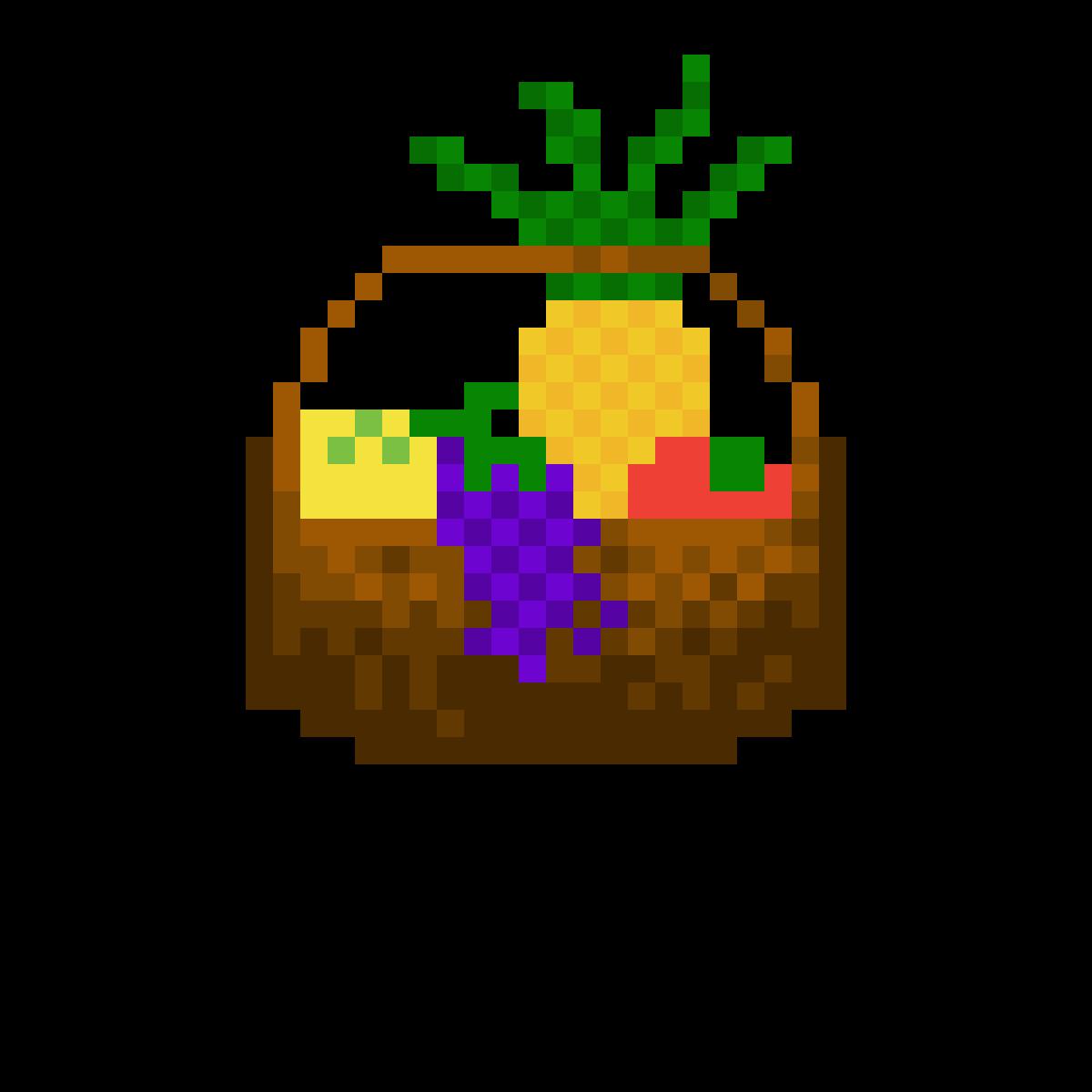 Pixilart Fruit Basket For Elon Musk For Hosting Meme Review By Chocolate Chips