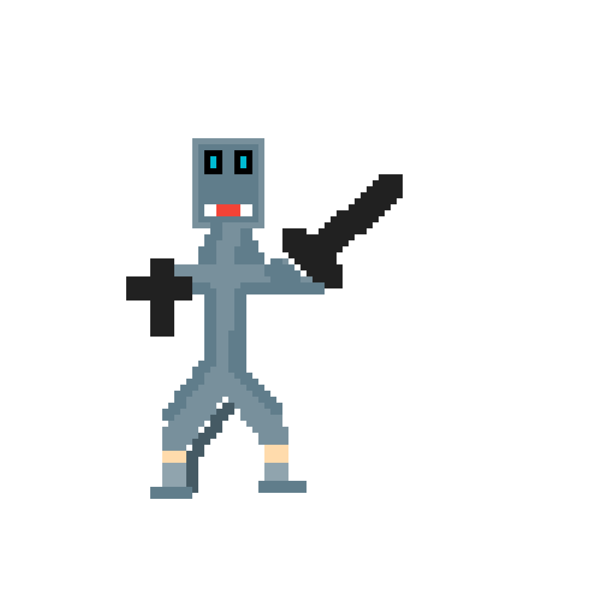 main-image-Fantasy Stick Figure 1 - Knight  by strykerr4