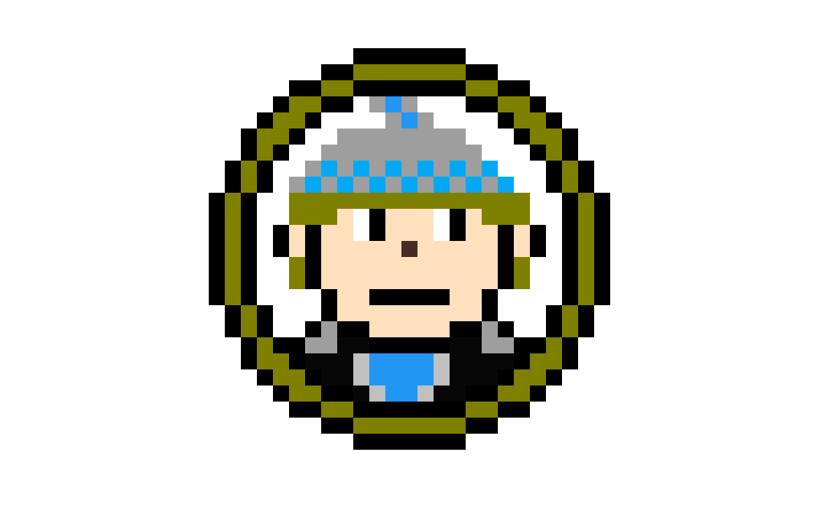 Lightning Man Icon by Pixel-Lord-12