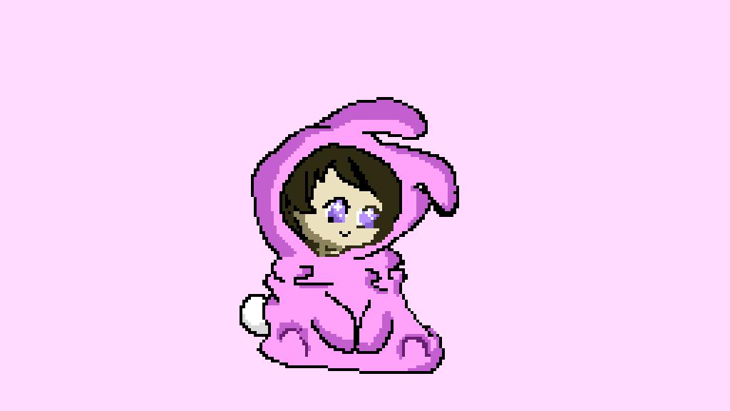 Kawaii bunny girl by roniaart