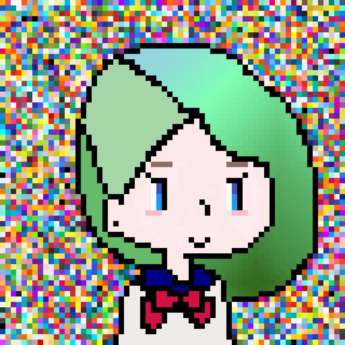 Green Hair by OctoBean